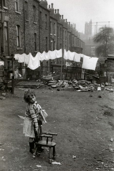 Marc Riboud  Leeds, 1954  FromMarc Riboud: 50 Years of Photography