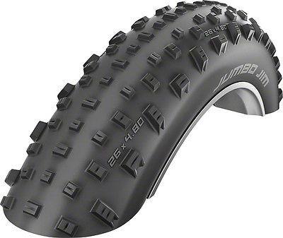 Tires 177828: New Schwalbe Jumbo Jim Liteskin Tire 26X4.8 Evo Folding Bead Black With Pacestar -> BUY IT NOW ONLY: $79.95 on eBay!