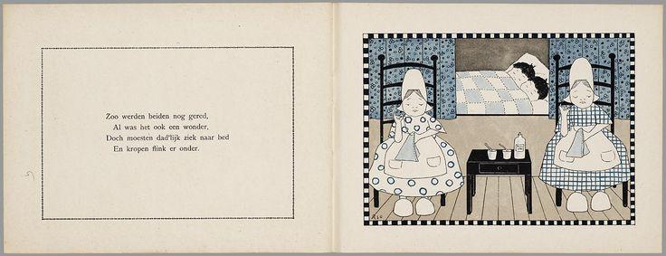 Van twee stoute boertjes en twee zoete boerinnetjes / door J.T. Heins ; plaatjes door Ajo
