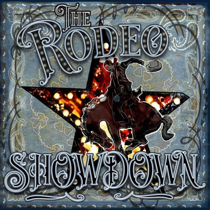 Rodeo Showdown Cowboy Art Sublimation Transfer Ready To Press In 2020 Cowboy Art Art Prints Rodeo