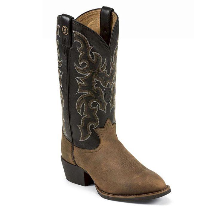 Tony Lama Men's Ranchin' Ropin' Ridin' 3R Western Boots