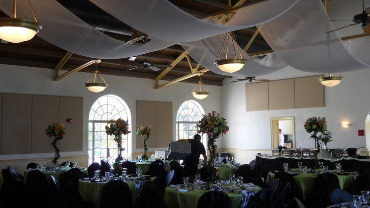 Magnolia Building Lakeland | Ceiling drape | Pinterest ...