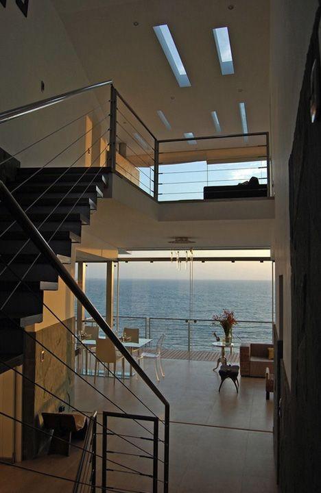 Rocky Cliffhanger: Monumental Luxury Beach Vacation Villa | Designs & Ideas on Dornob