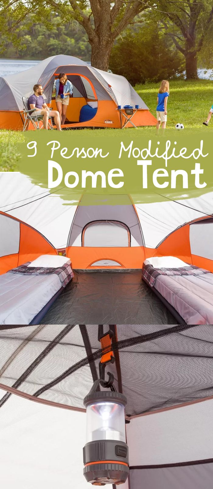 The Core 9 Person Modified Dome Tent features Core H20 block technology- water repellent fabrics with active bead technology for faster water runoff paired ... & Best 25+ Dome tent ideas on Pinterest | Tent camping Ozark ...