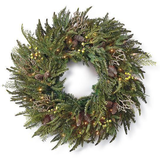 Donatella Cordless Wreath
