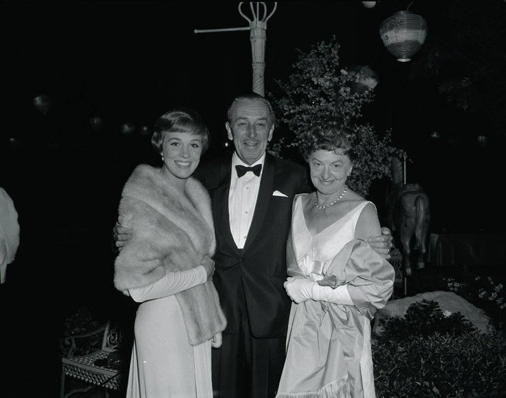 "*-*  Novelist P.L. Travers who wrote the beloved ""Mary Poppins"" children's books and was played by Emma Thompson in the 2013 film ""Saving Mr. Banks,"" was born on this date in 1899. She died in 1996 at the age of 96. Photo of Julie Andrews, Walt Disney and Travers at the 1964 premiere of the classic ""Mary Poppins"" courtesy of Disney Enterprises."