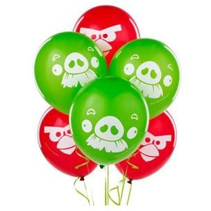 A110710 - Angry Birds Balloons Pack of 6  Please note: approx. 14 day delivery time. www.facebook.com/popitinaboxbusiness