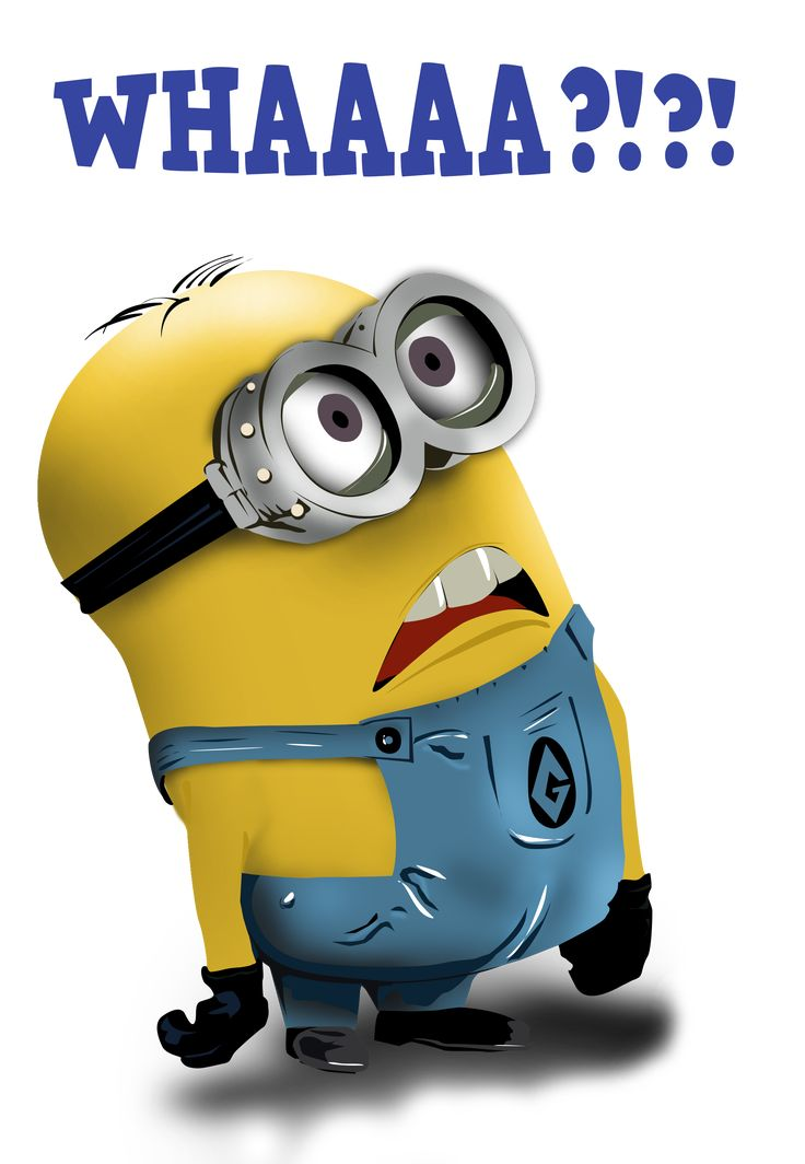 Images For > Mark Minion | Minion Madness | Minions ... Question Cartoon Funny