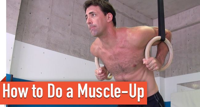 How to Do a Strict Muscle-Up on Gymnastic Rings