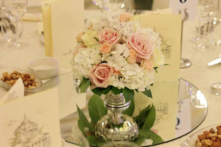 hortensii nunta noiembrie, hortensii in noiembrie, aranjamente florale hortensii