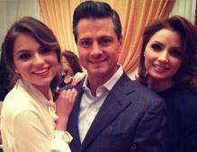 Imágenes compartidas a través de las redes sociales muestran cómo la familia del presidente Enrique Peña Nieto se la ha pasado esta Navidad