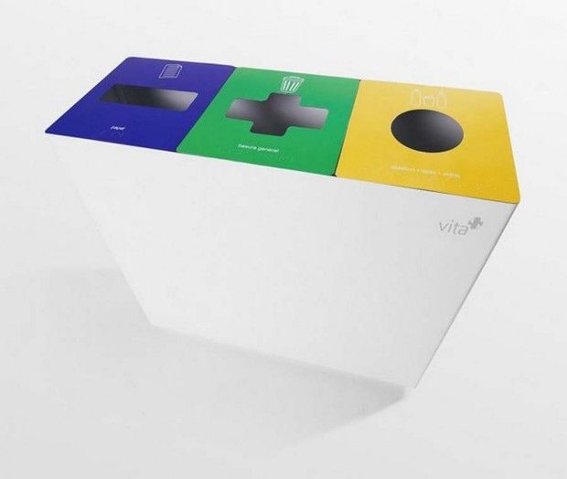 Vita Recycle Bin for solid waste
