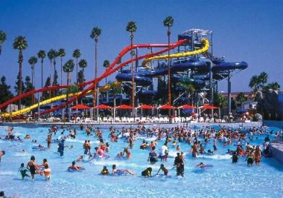 Knott's soak city waterpark San Diego
