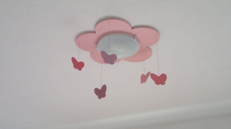 lámpara de techo infantil - flor