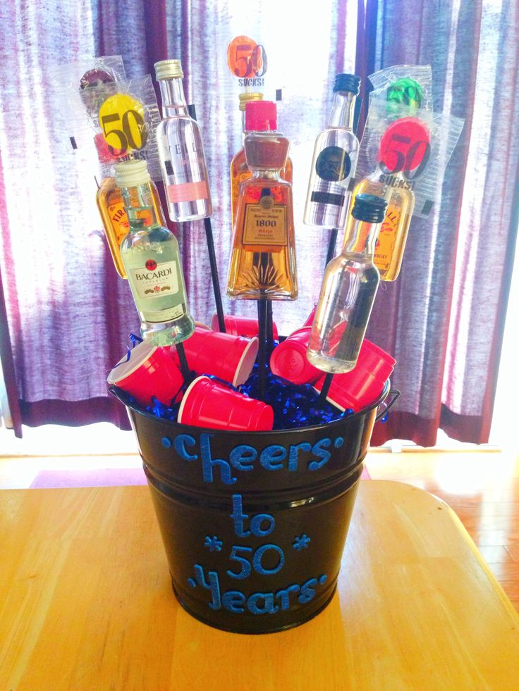 Alcohol gift for over 21 year olds. 50th birthday gifts