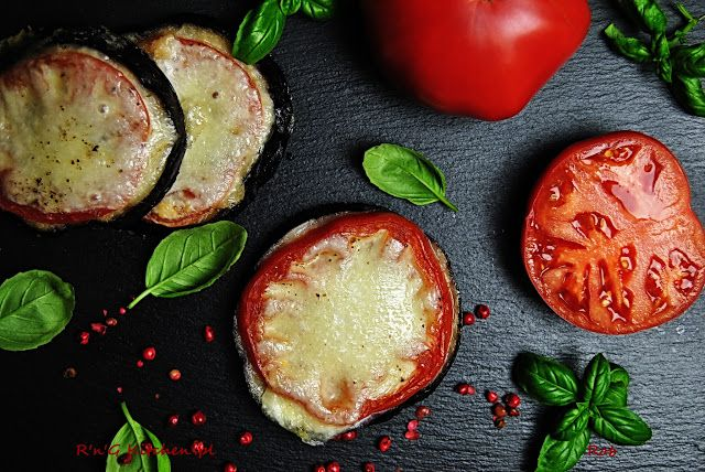 R'n'G Kitchen: Pieczone koreczki z bakłażanów i pomidorów