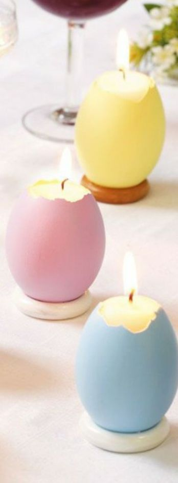 Easter Candles | Easter Decorating Ideas