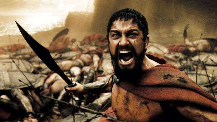 This is Sparta 300 King Leonidas - http://www.rourkelabds.com/this-is-sparta-300-king-leonidas/