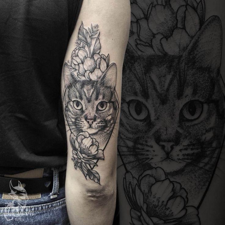 1001 Super Cool Arm Tattoos At A Glance Cute Cat Tattoo On