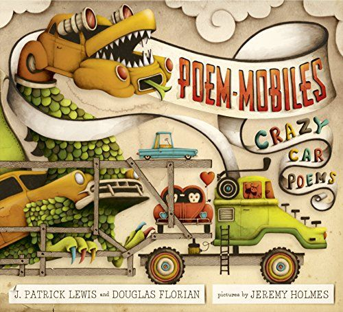 fun poetry book for kids that love cars poems that make students use their imagination