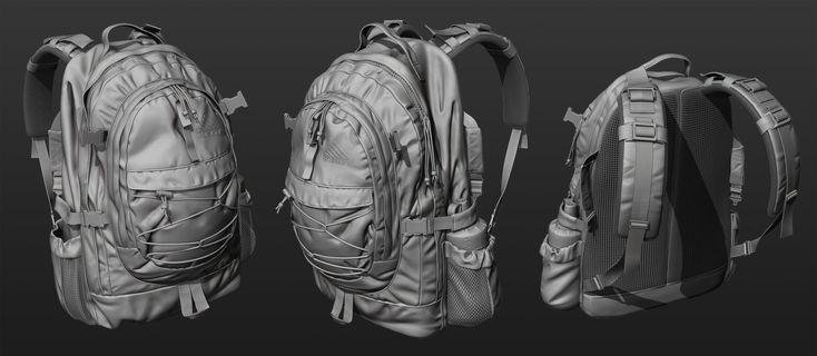 ArtStation - Military backpack, Konrad Sakowski