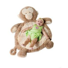 Monkey Baby Mat - I so want this for Aaliyah's room! It looks so comfy :-)
