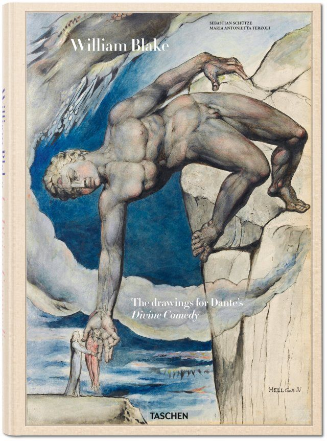The meeting of two masterminds. Celebrating Dante's 750th anniversary, this compilation with 14 fold-out spreads brings together William Blake's 102 illustrations for the Divine Comedy with excerpts from Dante's immortal, epic poem.. Published by TASCHEN Books