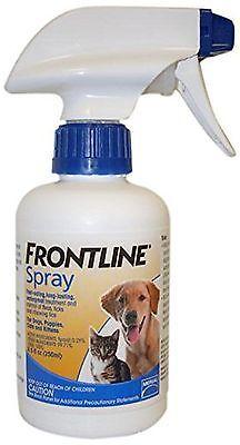 Frontline Flea and Tick Treatment Dog/Cat Spray 8-1/2-Ounce