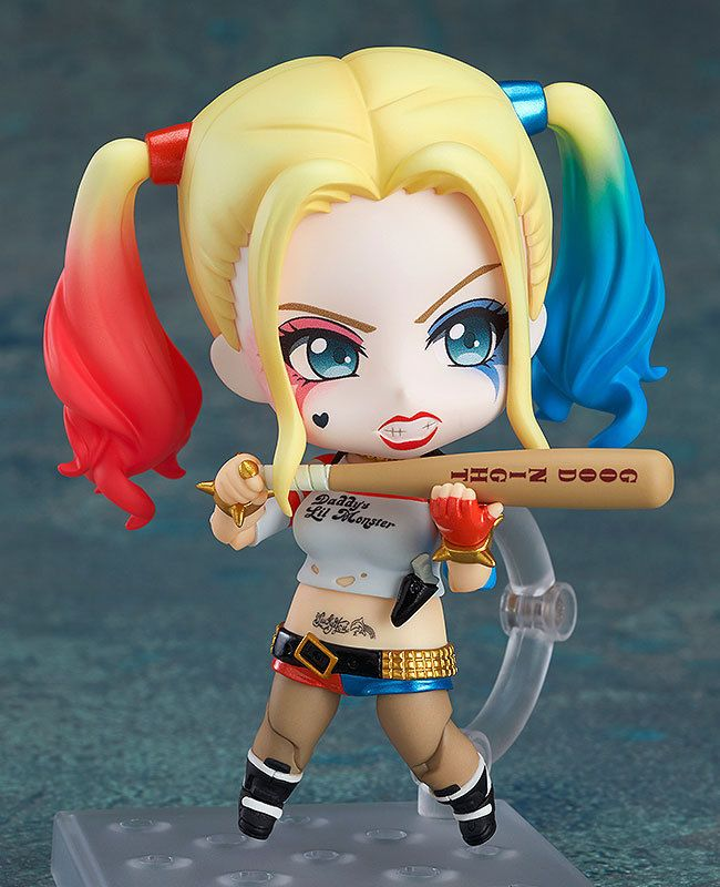 Suicide Squad Nendoroid Harley Quinn Action Figure Good Smile Company 10cm