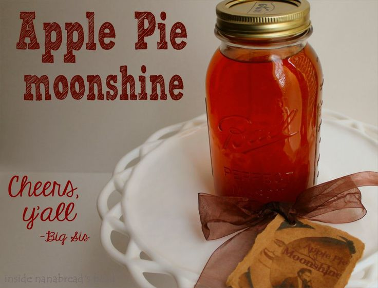 Drink Recipes For Apple Pie Moonshine