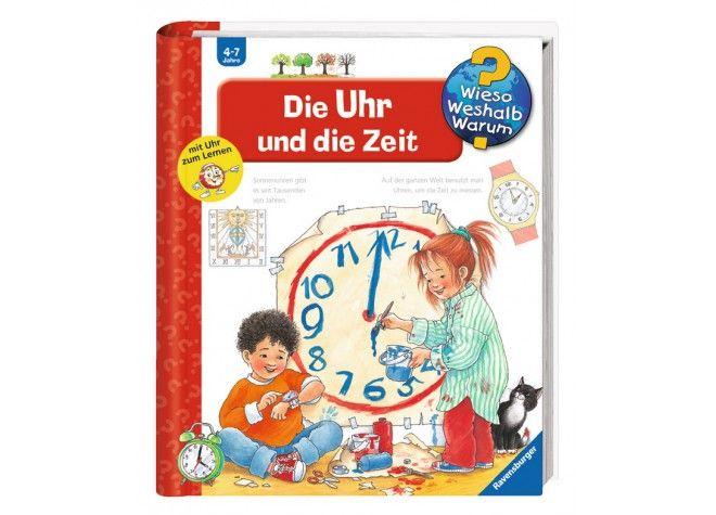 Wieso Weshalb Warum: Die Uhr und die Zeit, Buch, ab 4 Jahre von Ravensburger Verlag bei Spielundlern online bestellen
