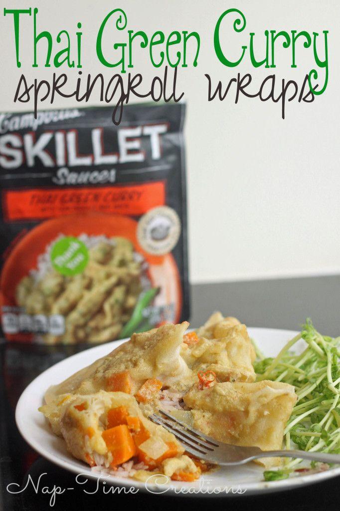 Skillet Pan Dinners: Thai Curry #EasyPrepMeals  #shop #cbias