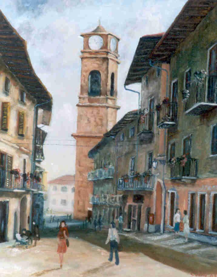 I Colori dell'#Autunno, mostra personale di Sabino Gentile dal fino al 3 novembre 2013 a #Giaveno presso i locali dell'Ex Municipio di via XX Settembre #aboutvalsangone Per maggiori info:http://giaveno.it/VediNews.asp?id=1446&vis  [Fonte Foto: http://sabinogentile.altervista.org/blog/wp-content/uploads/2011/08/Giaveno_campanile1.jpg]