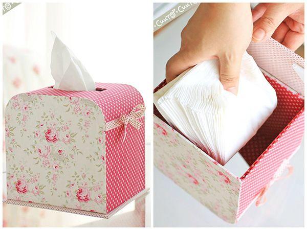 Handmade Tilda Tissue box