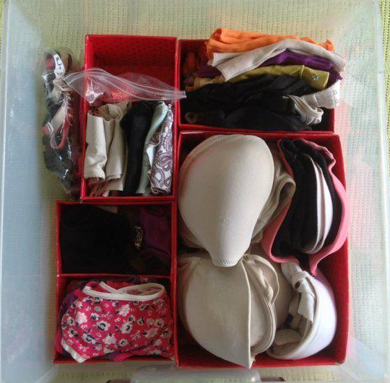 1000 ideas about organizador de ropa on pinterest organizadores de ropa organizadores and - Organizador de ropa interior ...