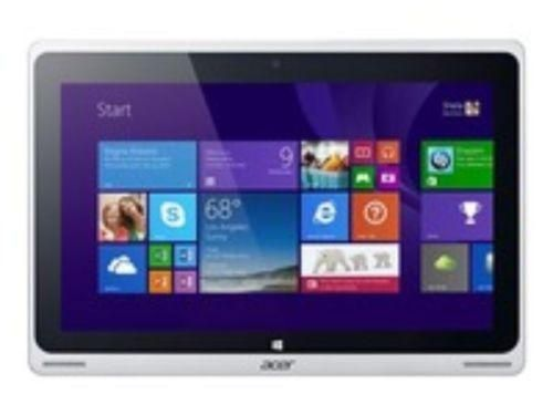 "Acer Aspire Switch 10 SW5-011-15YN - Tablet - mit Tastatur-Dock - Atom Z3745 / 1.33 GHz - Windows 8.1 SST 32-bit - 2 GB RAM - 32 GB SSD - 25.7 cm ( 10.1"" ) Touchscreen 1366 x 768 ( HD ) - Intel HD Graphics - Silber"