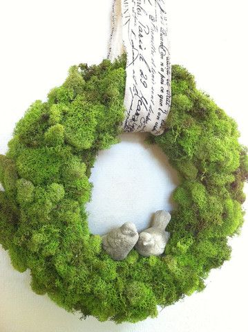 Moss Wreath Giveaway! – The Magnolia Mom