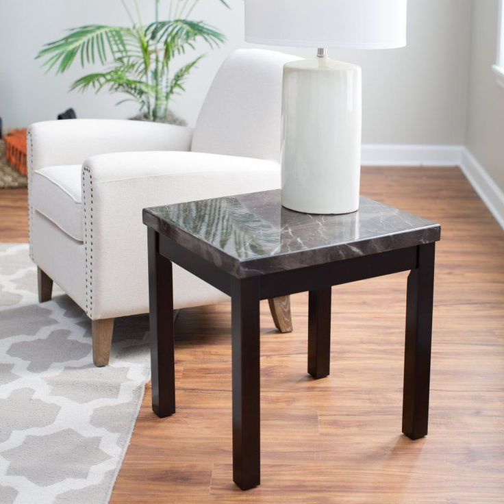 Milano Faux Marble End Table - RH140806