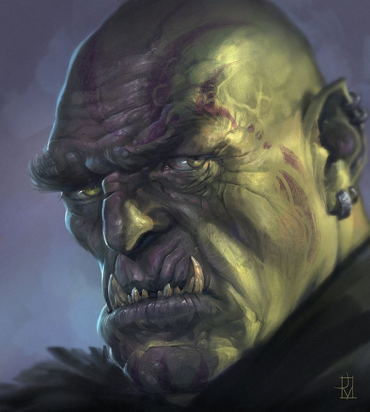Orc Commander by Dabana on DeviantArt: