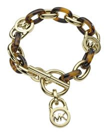 Y13NV Michael Kors Toggle Link Bracelet