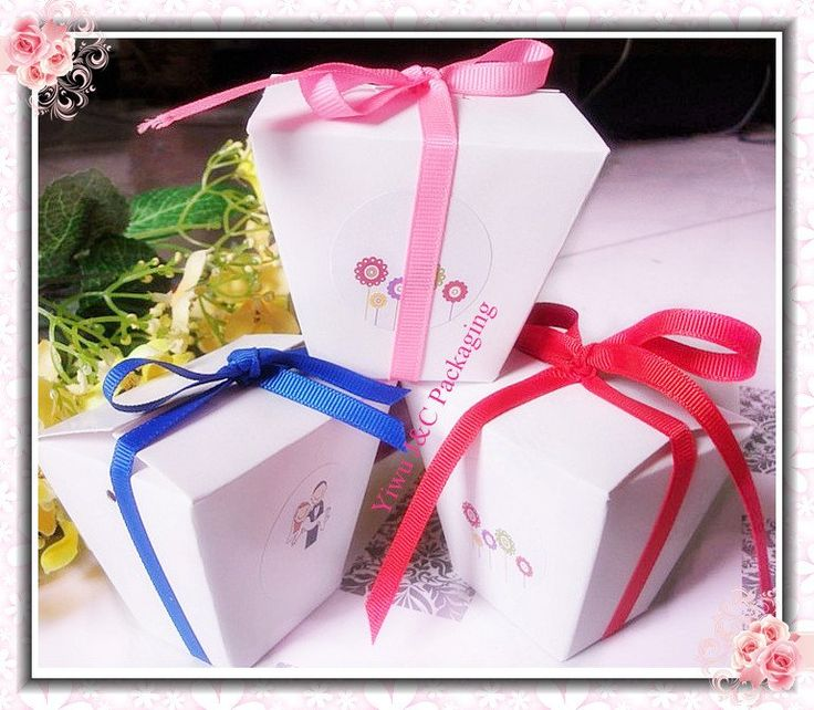 Aliexpress.com : Buy FREE SHIPPING White Chinese Take Out Wedding Favor Boxes,Candy Box, Party Box, Chocolate Box (JCN 39C) from Reliable Chinese take out box suppliers on Yiwu J Packaging & Material Firm