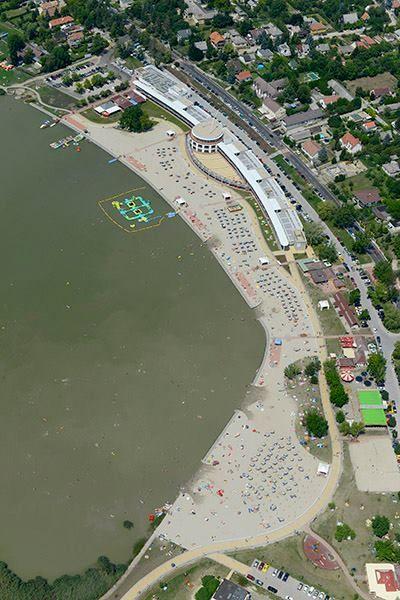 a Velencei-tó - légifelvétel - Hungary