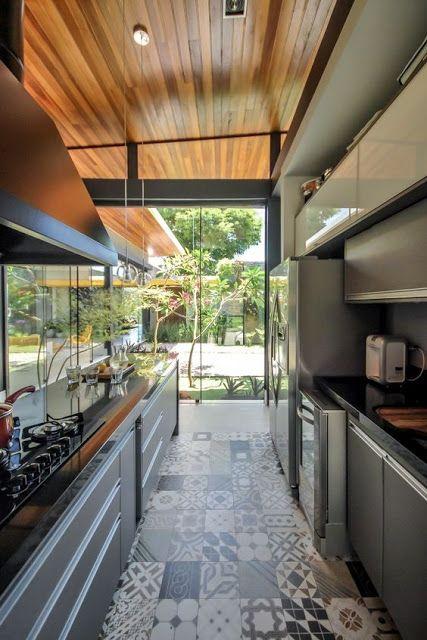 10 Cozinhas cinza! - Jeito de Casa - Blog de Decoração