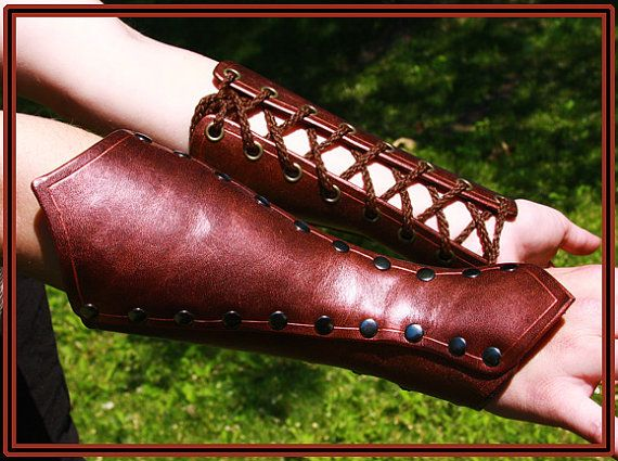 Corset Style Bracers rose