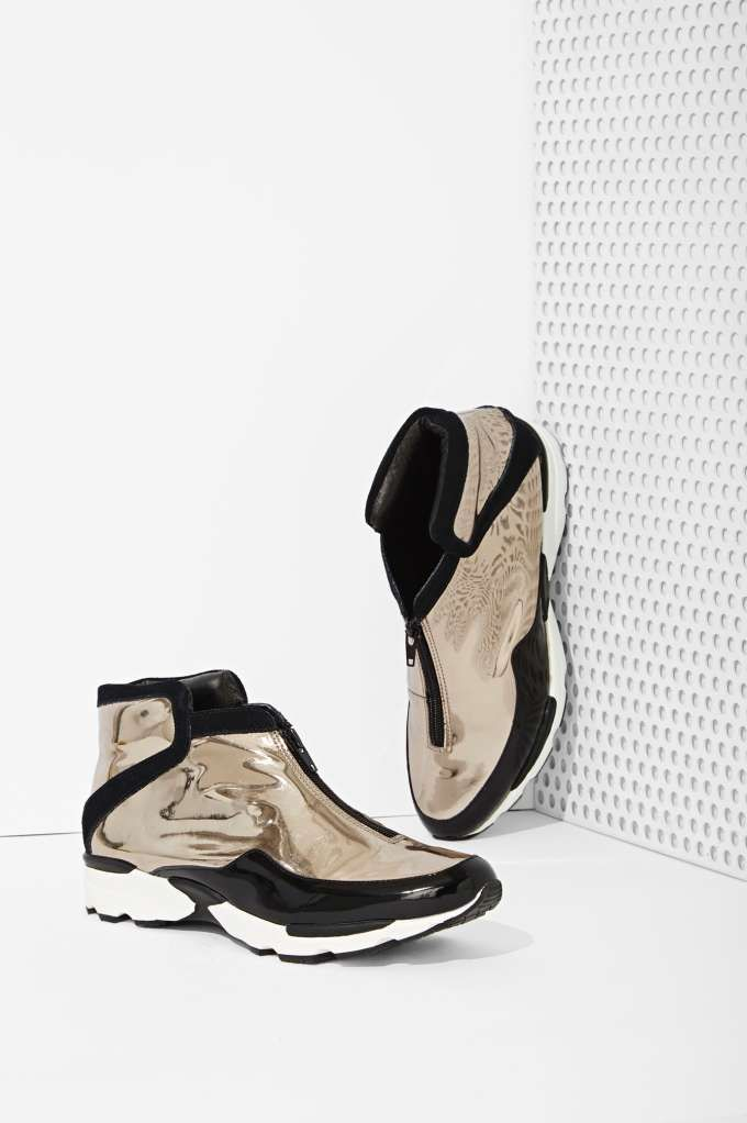 Jeffrey Campbell Shuffle Trainer | Shop Shoes at Nasty Gal  If I have to ware spot shoes....