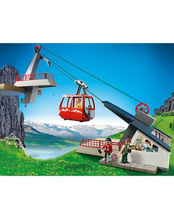 Playmobil funicular with mountain station 5426 online at Papiton.