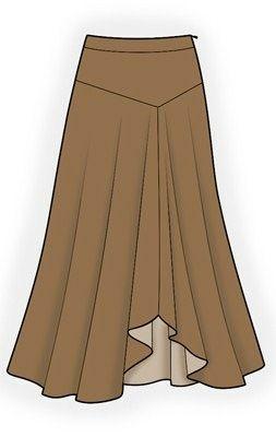 Suknje | Krojevi za šivanje | Krojevi po mjeri | Besplatni krojevi | Krojačica.net
