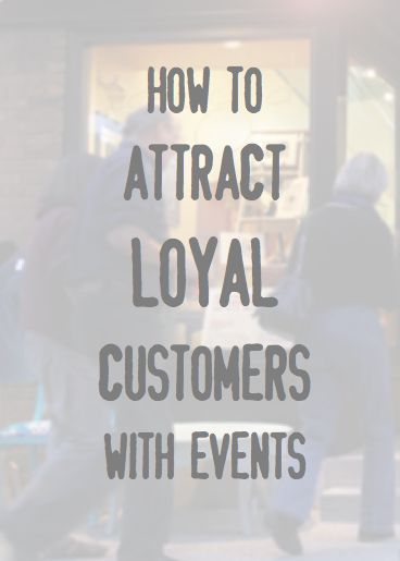 Attract customers with events - get loyal customers - small business advice: http://blog.aftcra.com/blog/aftcra-seller-shares-advice-for-attracting-loyal-customers-to-your-store-with-storefront/