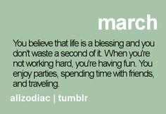 Hello March :)