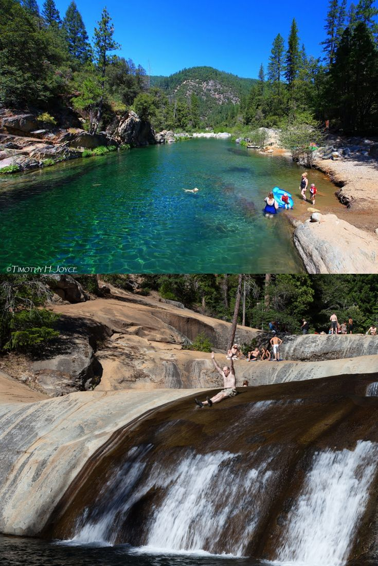 Northern California Swimming Holes